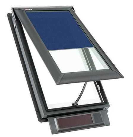 Solar Power Fresh Air Skylight